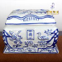 陶瓷骨灰盒设计加工 景德镇高档骨灰盒定做有什么讲究