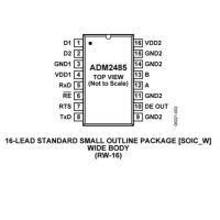ADM2485BRWZ-REEL【进口原装】ADI优势现货供应假一罚十 其他IC 内置变压器驱动器