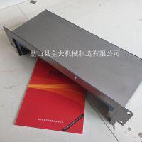 定做沈阳i5立式加工中心钢板防护罩 伸缩导轨护板厂家