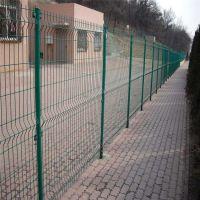 朋英常年销售 公路铁丝浸塑双边丝护栏网 批发订做