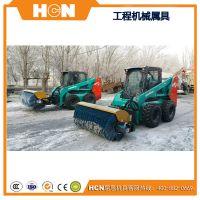 雪刷 雪滚 滑移装载机扫雪车 装载机除雪铲