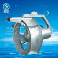 QHB型消化液污泥潜水回流泵安装示意图