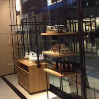 杭州惠利展柜厂加工定制新款组装面包展示柜(厂家直销)