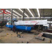 2018新型水草打捞船 优质割草船厂家