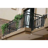阳台锌钢护栏锌钢空调护栏生产拼装好发货