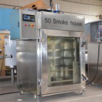 蒜蓉肠烟熏炉,东北香肠加工全套设备