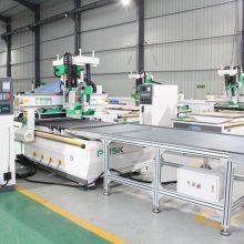木工加工中心数控开料机设备配五面钻设备多少钱一套