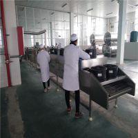 广东河源直销长条形QQ豆干深加工设备、新品豆腐串/玉米粒真空油炸设备