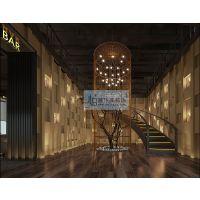 居乐高石林彝族自治县 Loft风格西餐厅设计装修23万全包