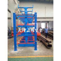 郑州悬臂式货架价格 管材存储方式 型材仓库 河南伸缩式管材货架简介