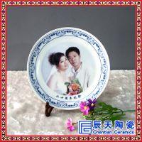 景德镇陶瓷装饰盘子挂盘 现代家居装饰客厅工艺摆设礼品纪念盘
