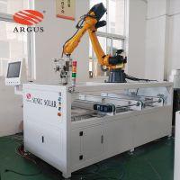 浙江200MW自动化太阳能组件生产线单元设备之机器人接线盒焊接机