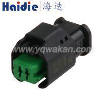 TE泰科汽车连接器 1801175-5/Haidie 母端2孔线束插件