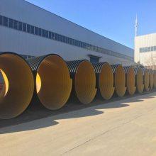 钢带hdpe螺旋排污水管厂家