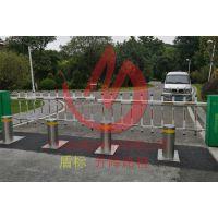 物业小区规划道路管理升降防护路桩 不锈钢高强度液压自动升降柱