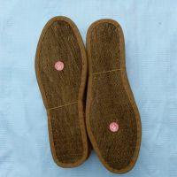 四川棕鞋垫厂家批发防臭棕丝鞋垫 保暖山棕鞋垫