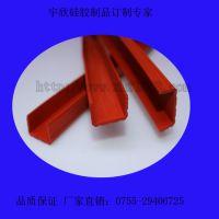 宇欣耐温350度异型挤出硅胶条 开模定制防水密封异型硅胶密封条 宇欣挤出硅胶条定制