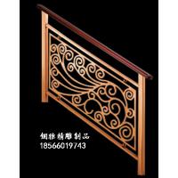梦幻城堡不锈钢镂空平面雕刻楼梯护栏