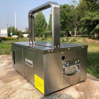 耗电低自动空心挂面打捆机 中药材扎把机型号 鲁强机械生产
