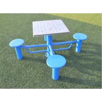 高档小区户外休闲棋牌桌 多人位棋桌椅 东莞剑桥运动健身路径 铁