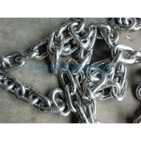 青岛G80美标不锈钢链条,不锈钢有档锚链