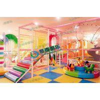 儿童游乐园 室内淘气堡沙池地垫篮球淘气堡