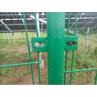 双边丝护栏网、光伏电站围栏网、Q235优质铁丝网护栏网、公路围栏网、润昂现货定制