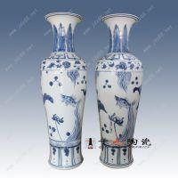 手绘景德镇陶瓷花瓶厂家 千火陶瓷
