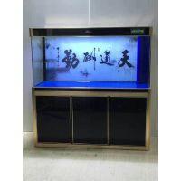 专业定做各式中高档艺景水族箱生态玻璃鱼缸免换水龙鱼缸