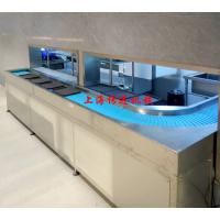 自动收集餐盘输送机,厨房碗筷输送设备