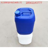 10升塑料桶10kg堆码塑料桶罐