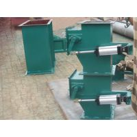 双层气动翻板阀方形手动重锤双层卸灰阀除尘设备专用配件厂家直销