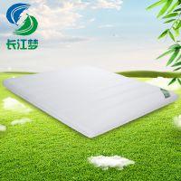 供应长江梦竹原纤维床垫 定做1.5 1.8m床垫 席梦思硬床垫 可拆洗床垫