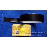 厂家订制优惠直销0.06T黑色耐高温260度防静电聚酰亚胺PI硅胶带
