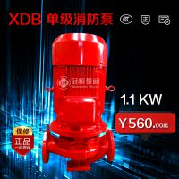 冠桓 管道泵 立式管道泵 立式单级离心泵 家用冷却塔冷却水循环泵 功率1.1KW