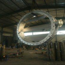 专业生产Φ89硫化管道电动调节阀/电动风门 气动方风门