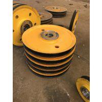 直销山东省,32T铸钢滑轮组,钢丝绳滑轮组,吊钩组抓斗用,亚重