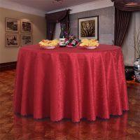 欧式餐厅饭店圆桌布艺餐桌布圆形酒店桌布
