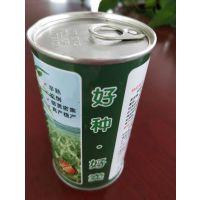 供应芝麻种子罐 创研芝一号芝麻铁罐专业定制