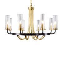 大名城灯饰供应美式简约玻璃罩吊灯 后现代创意个性设计师酒店餐厅客厅灯具
