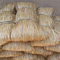 厂家直销防水黄麻丝 管件接口缠绕麻丝 麻纤维 粗麻丝 细麻丝批发