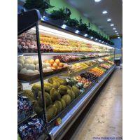 洛阳水果保鲜柜水果风幕柜多少钱一米