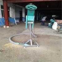 确保物料利于生产车载吸粮机 使用广螺旋输送机