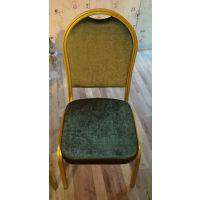 厂家直销金属椅子卡航家具酒店椅将军椅展会庆典椅软包饭店餐椅婚庆宴会椅子桌椅