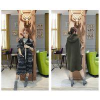 2017年新款羊驼绒大衣品牌折扣店 一手货源 折扣女装外贸女装货源