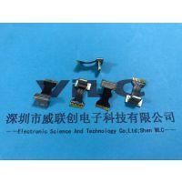 背夹式苹果 10-11P无线充电公头☛带音频-磷铜端子