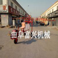 天津手推式汽油打药机 超长拉管喷雾器 汽油打药机富兴厂家直销