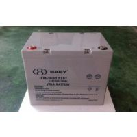 BABY蓄电池FM/BB1255T鸿贝12V55AH总代理商|紧急照明系统蓄电池