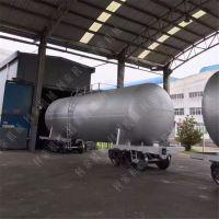 油罐车除锈用什么设备好 开放式喷砂机可以解决吗