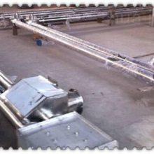 兴亚定做天津不锈钢链条传送机 GL系列多处进出口料输送机 管链输送机